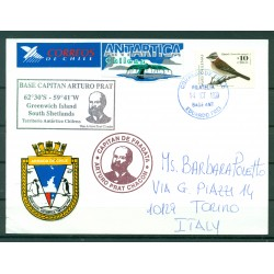 Chile 1999 -  Postcard base Eduardo Frei
