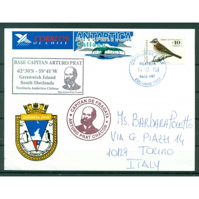 Chile 1999 -  Postcard base Eduardo Frei