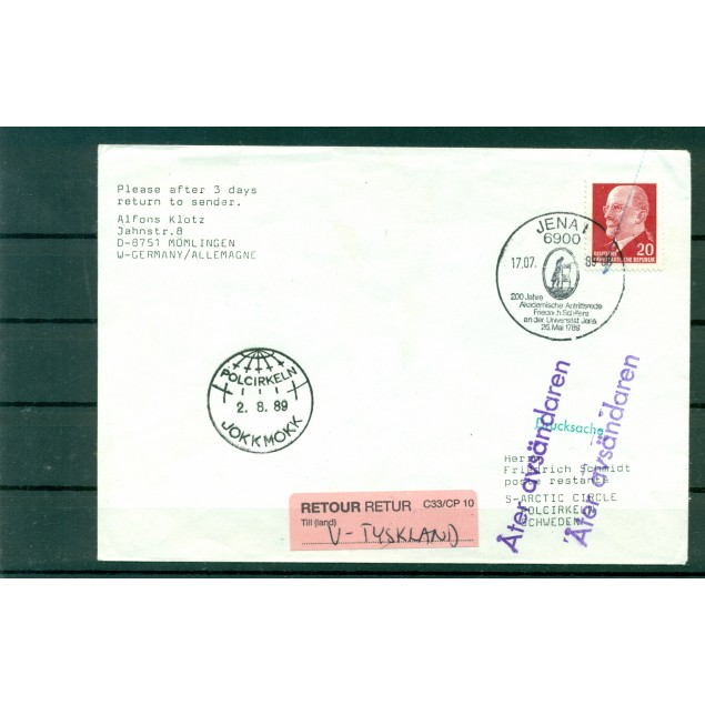"GDR 1989 - Cover  ""Arctic Circle"""
