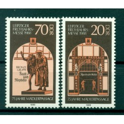 Germany - GDR 1988 - Y & T n. 2765/66 - Leipzig Spring Fair (Michel n. 3153/54)