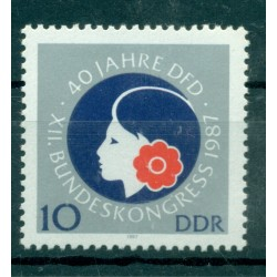 Germany - GDR 1987 - Y & T n. 2699 - Democratic Women's League of Germany (Michel n. 3079)
