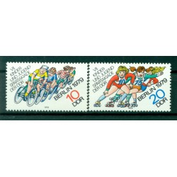 Germany - GDR 1979 - Y & T n. 2098/99 - 7th sport competition (Michel n. 2433/34)