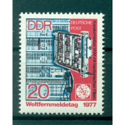 Germany - GDR 1977 - Y & T n. 1896 - International Telecommunication Day (Michel n. 2223)