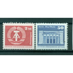 Germany - GDR 1980 - Y & T n. 2201-03 - Definitive (Michel n. 2549/50)