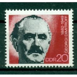 Allemagne - RDA 1972 - Y & T n. 1470 - Georgi Dimitrov (Michel n. 1784)