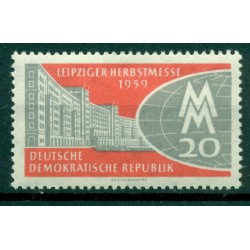 Germania - RDT 1959 - Y& T n. 426 - Fiera d'autunno di Lipsia (Michel n. 712)