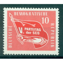 Germany - GDR 1958 - Y & T n. 351 - Socialist Unity Party of Germany (Michel n. 633)