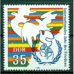 Allemagne - RDA 1986 - Y & T n. 2657 - Année internationale de la Paix (Michel n. 3036)