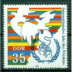 Germany - GDR 1986 - Y & T n. 2657 - International Year of Peace (Michel n. 3036)