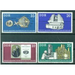 Germany - GDR 1975 - Y & T n. 1741/44 - Academy of Sciences (Michel n. 2061/64)