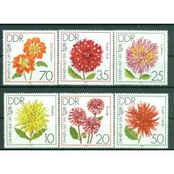 Germany - GDR 1979 - Y & T n. 2100/05 - Flora (Michel n. 2435/40)