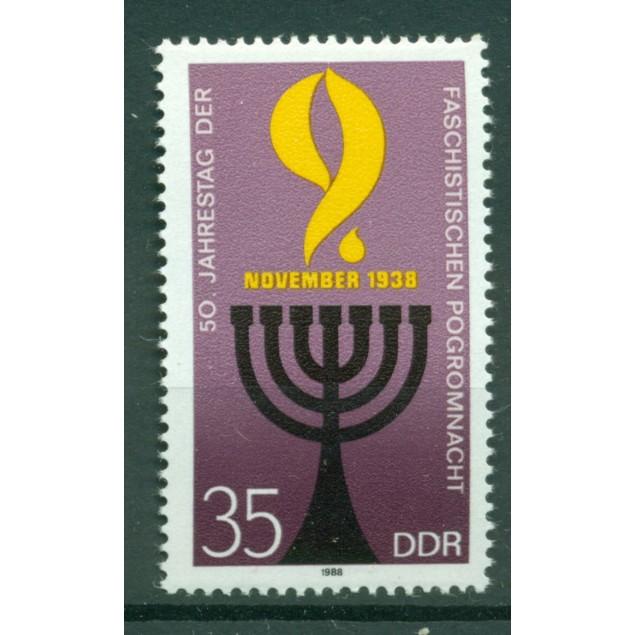 Germany - GDR 1988 - Y & T n. 2814 - November Pogrom (Michel n. 3208)