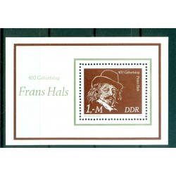 Germany - GDR 1980 - Y & T sheet n. 59 - Frans Hals (Michel n. 61)