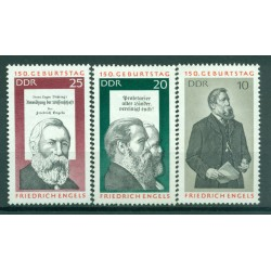 Germany - GDR 1970 - Y & T n. 1313/15 - Friedrich Engels (Michel n. 1622/24)