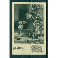 """Germany 1937 - Michel n.515 - Postcard """"Mother's Day"""""""