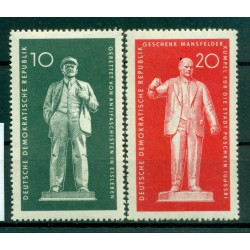 Germany - GDR 1960 - Y & T n. 488/89 - Lenin and Thälmann (Michel n. 772/73)
