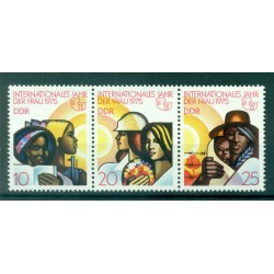 Germany - GDR 1975 - Y & T n. 1702A - International Women's Year (Michel n. 2019/21)