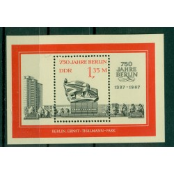 Germany - GDR 1987 - Y & T sheet n. 88 - Berlin (Michel n. 89)