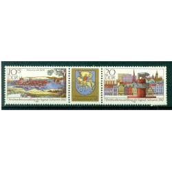 Germany - GDR 1982 - Y & T n. 2372A - Youth Philatelic Exhibition (Michel n. 2722/23)