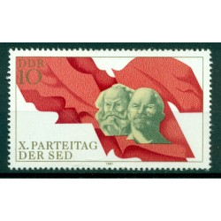 Germany - GDR 1981 - Y & T n. 2240 - Socialist Unity Party of Germany (Michel n. 2582)