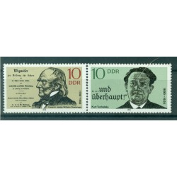 Germany - GDR 1990 - Y & T n. 2929/30 - Personalities (Michel n. 3320/21)