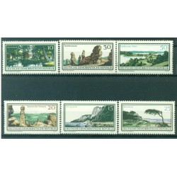 Germany - GDR 1966 - Y & T n. 880/85 - National parks (Michel n. 1179/84)