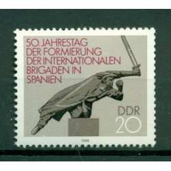 Germany - GDR 1986 - Y & T n. 2671 - International Brigades (Michel n. 3050)