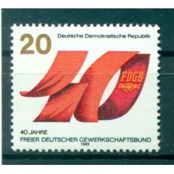 Germania - RDT 1985 - Y & T n. 2575 - FDGB (Michel n. 2951)