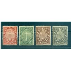 Vatican 1933 - Y & T  n. 40/43 - Jubilee Year