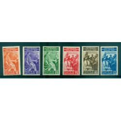 Vatican 1935 - Y & T  n. 66/71 - International law congress