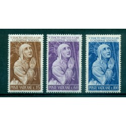 Vaticano 1989 - Mi. n. 984/987 - Congresso Eucaristico Int.