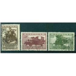 USSR 1932 - Y & T n. 1/3 express - Postal transport (Michel n. 407 Y-408/09 X)