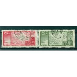 USSR 1932 - Y & T n. 31/32 air mail - 2nd International Polar Year (Michel n. 410/11 A)
