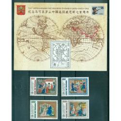 Vaticano 1996 - Mi. n. 1167/1170 + 1171 Bl. 16 - Marco Polo