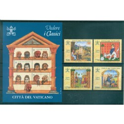 Vatican 1996 - Mi. n. 1167/1170 + 1171 Bl. 16 - Marco Polo