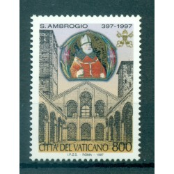 Vatican 1997 - Mi. n. 1221 - Saint Ambroise