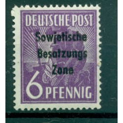 Germany - East Germany 1948 - Y & T n. 9 - Definitive (Michel n. 183)