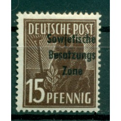 Germany - East Germany 1948 - Y & T n. 13 - Definitive (Michel n. 187)