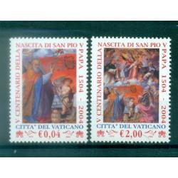 Vatican 2004 - Mi. n. 1482/1483 - Saint Pope Pius V