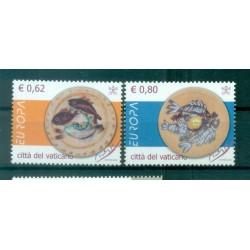 Vatican 2005 - Mi. n. 1521/1522 - EUROPA Gastronomy
