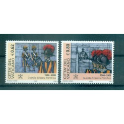 Vatican 2005 - Mi. n. 1538/1539 - Pontifical Swiss Guard