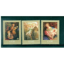 Vatican 2005 - Mi. n. 1540 A/1542 A - Noël