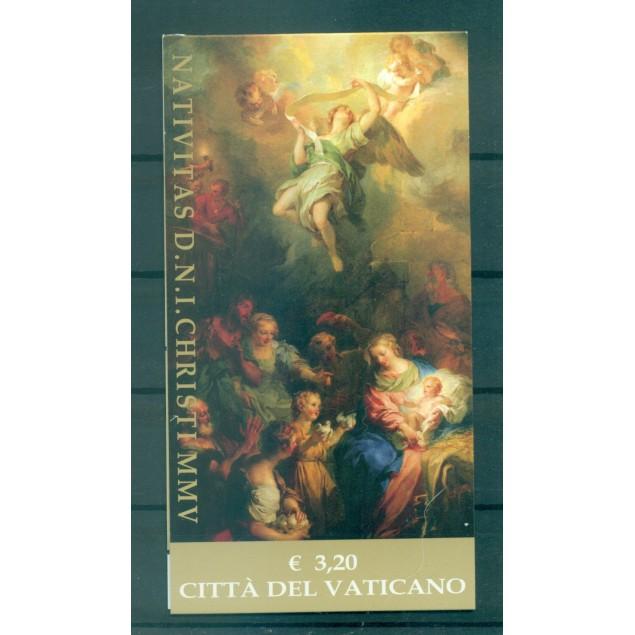 Vatican 2005 - Mi. n. 1542 MH - Christmas