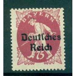 Germany - Deutsches Reich 1920 - Michel  n. 127 - Overprinted 1920 Bavaria stamps (Y & T  n. 118J)