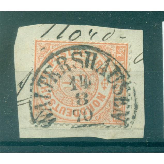 Germany - North German Confederation 1869 - Y & T n. 14 - Definitive (Michel n. 15)
