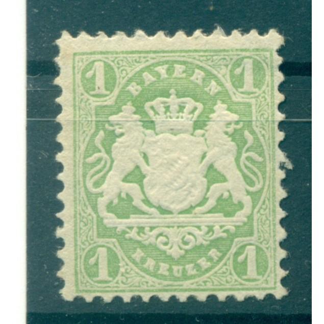 Germany - Bavaria 1875 - Y & T n. 31 - Definitive (Michel n. 32 a)