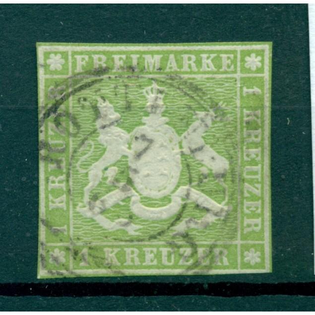Germany - Württemberg 1863 - Y & T n. 25 - Definitive (Michel n. 25)