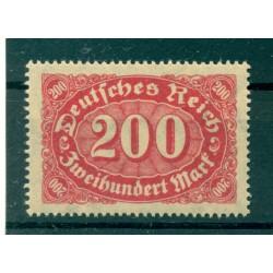 Germany - Deutsches Reich 1922-23 - Michel  n. 248 a - Definitive (Y & T  n. 183)