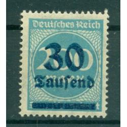 Germany - Deutsches Reich 1923 - Michel  n. 285 - Definitive (Y & T  n. 261)