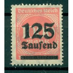 Germany - Deutsches Reich 1923 - Michel  n. 291 a - Definitive (Y & T  n. 267)